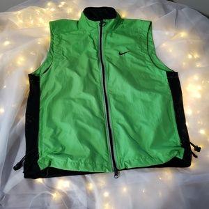 90s nike lightweight safety reflective vest.